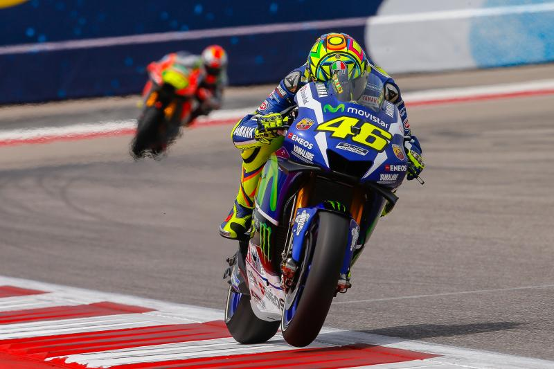 Valentino Rossi on qualifiying at Grand Prix of the Americas