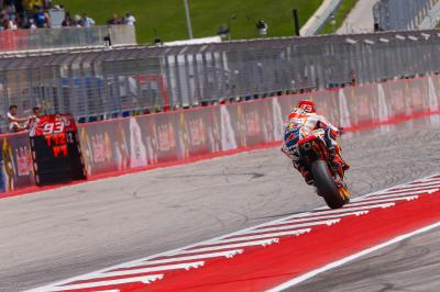 Marquez pushes the limit in MotoGP™