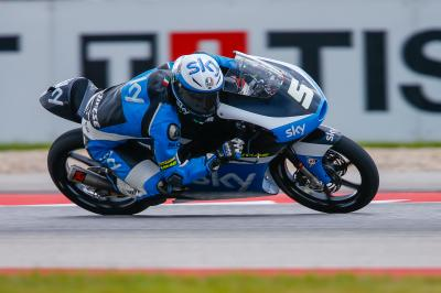 Fenati gewinnt Moto3™ in Texas