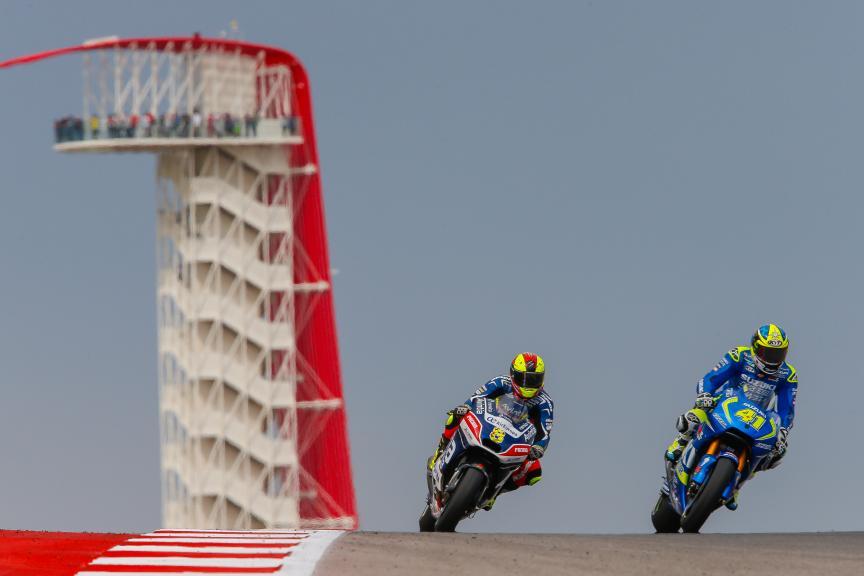 Aleix Espargaro, Team SUZUKI ECSTAR, Hector Barbera, Avintia Racing, Red Bull Grand Prix of The Americas