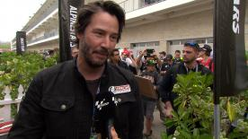 Hollywood star & known bike fan Keanu Reeves tells us which MotoGP track he'd most like to ride during the #AmericasGP.