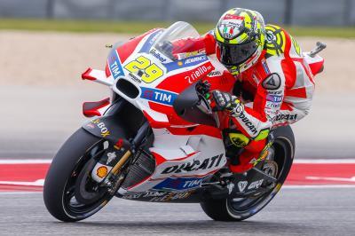 Iannone: «Se lo dedico a toda la fábrica Ducati»
