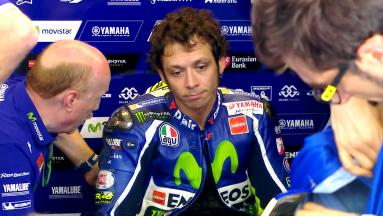 Rossi: 'I burnt the clutch at the start'