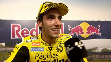 Rins: 'An incredible race!'