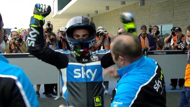 Highlights: Fenati triumphs in Moto3™ in Austin