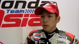 ライディスルーのペナルティを科せられて25位に終わった尾野弘樹が決勝レースを振り返る。