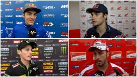 The fastest MotoGP™ riders give us feedback on their race results at the #AmericasGP.
