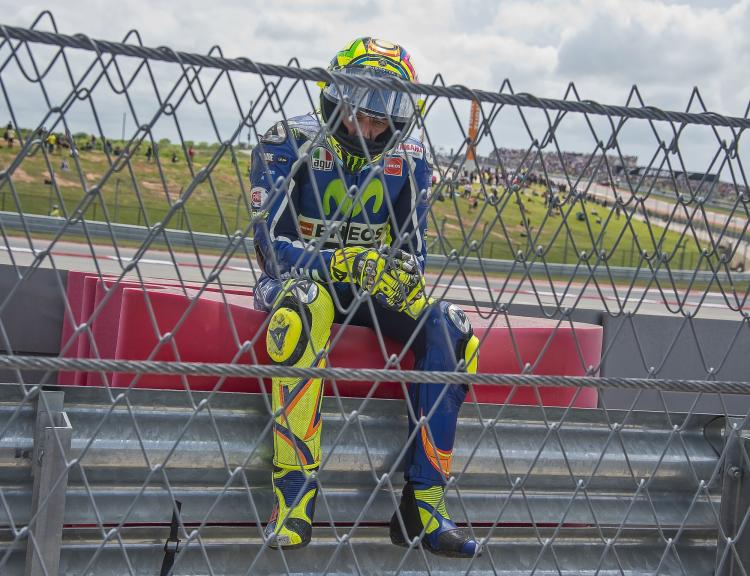 Valentino Rossi, Movistar Yamaha MotoGP, Red Bull Grand Prix of The Americas © Rafa Marrodan