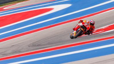 Márquez creuse l'écart suite à la chute de Rossi à Austin