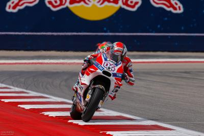"""Dovizioso: """"Once again today I was unable to finish'"""