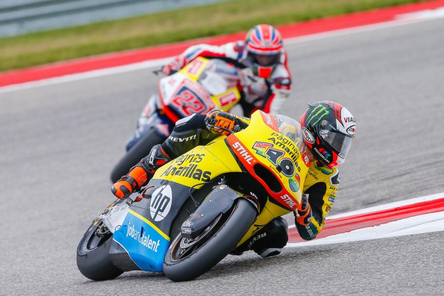 Alex Rins, Paginas Amarillas HP 40,  Sam Lowes, Federal Oil Gresini, Red Bull Grand Prix of The Americas