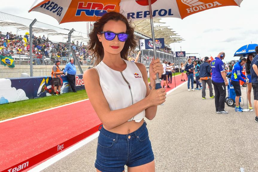 Paddock Girls Red Bull Grand Prix of The Americas