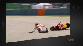 A detailed look at the cause and effect of the noteworthy crashes of the #AmericasGP.