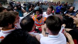 Despite winning by over six seconds in Austin Marc Marquez explains why the race was not as easy as it looked.