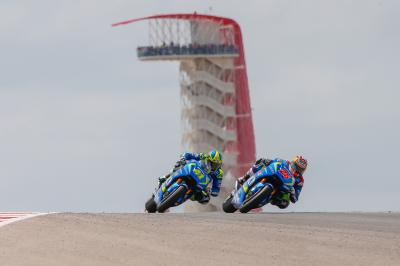 Test privado de Team Suzuki Ecstar en COTA