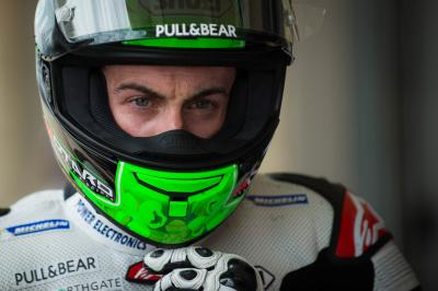 "Laverty: ""I felt like I could crash every time on the right"""