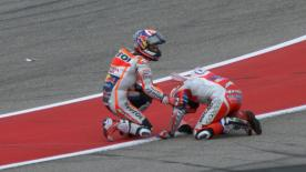 Dani Pedrosa may be small in stature, but after the Americas GP many people were referring to him as the biggest man in the paddock.