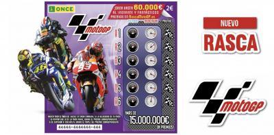 La ONCE lanza el Rasca 'MotoGP™', para ganar hasta 60.000€