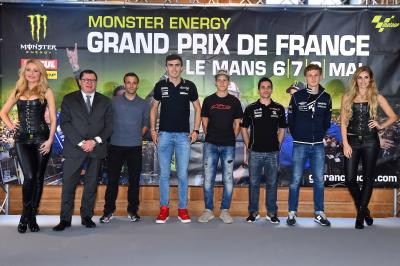 Présentation du Monster Energy GP de France à Paris