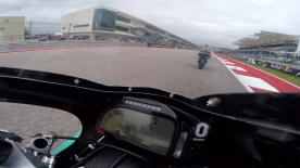 Go behind the scenes with Danny Kent at the #AmericasGP, filmed exclusively on GoPro™ cameras.