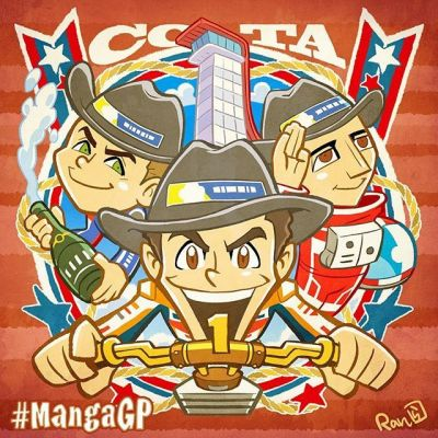 #MangaGP by @ranka_fujiwara // #AmericasGP