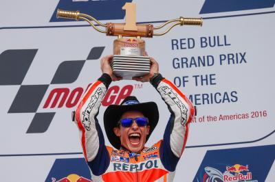 Marc Márquez alcanza a Phil Read, Leyenda de MotoGP™