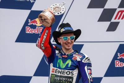 ロレンソが100度目の表彰台獲得に王手