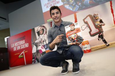 Marquez launches comic about his life