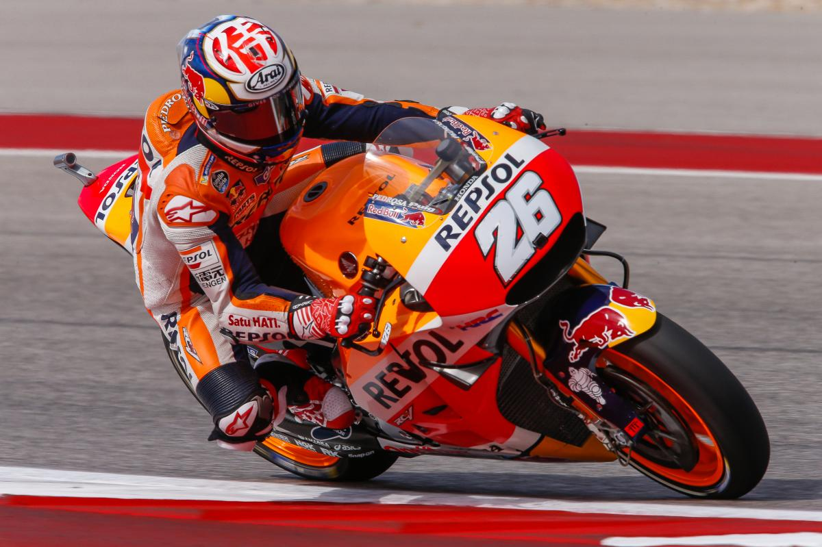 "Pedrosa: ""We'll try and give our best"" 