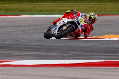 Iannone: «La Desmosedici es una moto muy competitiva»
