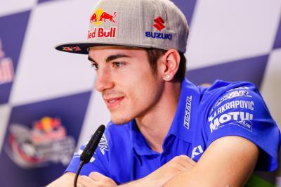 Viñales: «Puedo aprender mucho de Rossi»