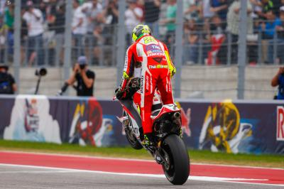 Iannone: Desmosedici GP ein wirklich starkes Motorrad