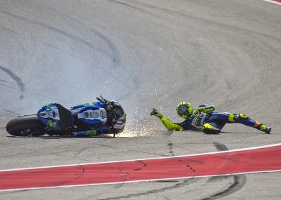 "Rossi: ""Texas was not very lucky for me"""