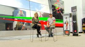 Before every race motogp.com reporter Amy Dargan catches up with one of the riders - this week it's Stefan Bradl's turn.