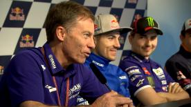 Jorge Lorenzo explains his move to Ducati while Yamaha's Lin Jarvis reflects on the decision at the Spanish GP press conference.