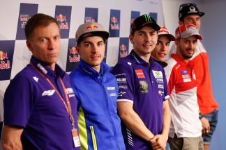 La conferenza stampa apre il GP di Spagna