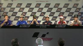 All of the action from the official opening press conference at the #SpanishGP.