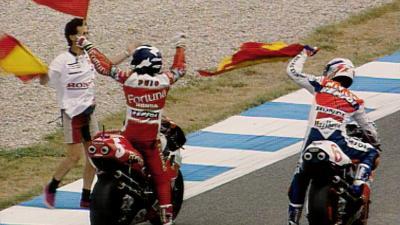 Puig inspiriert eine Nation indem er in Jerez gewinnt