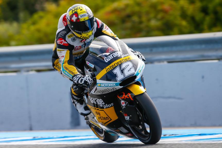 Thomas Luthi, Garage Plus Interwetten, Gran Premio Red Bull de España