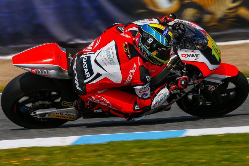 Xavier Simeon, QMMF Racing Team, Gran Premio Red Bull de España
