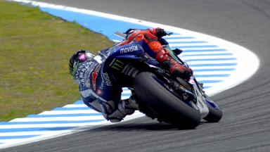 Highlights: Lorenzo quickest on Friday