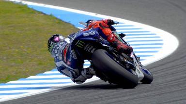 Highlights: Lorenzo gibt erste Spitzenzeit in Jerez vor