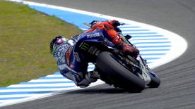 Jorge Lorenzo topped both Free Practice sessions on Friday at the Spanish GP ahead of Marc Marquez and Aleix Espargaro.