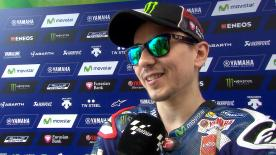 Jorge Lorenzo starts the weekend as he means to go on - at the very top of the time sheets.