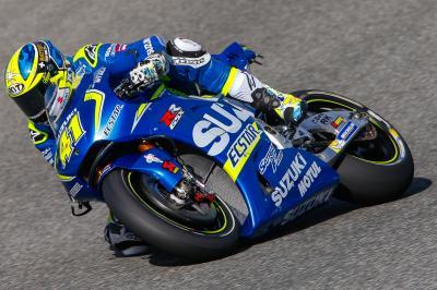 Aleix: «La moto cada vez va mejor»
