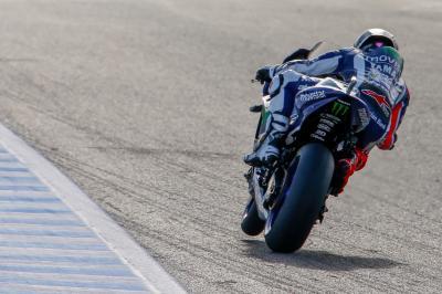 Lorenzo domina los entrenamientos del viernes en Jerez