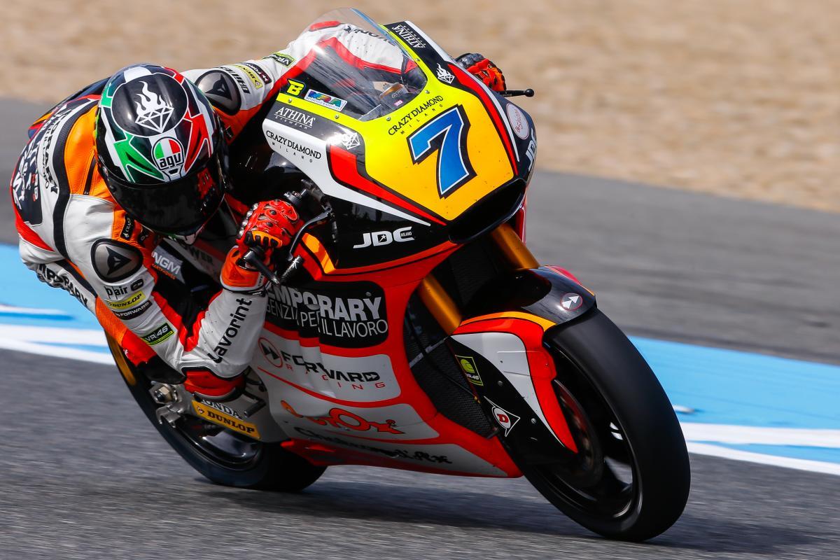 Lorenzo Baldassarri Race Number 7 Very Small Pair
