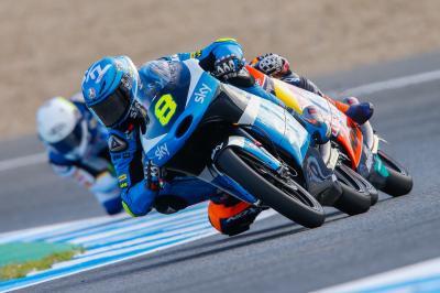 Bulega saldrá desde la pole position en Moto3™