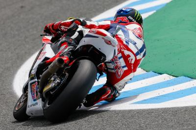 Jerez pole record obliterated as Lowes takes pole