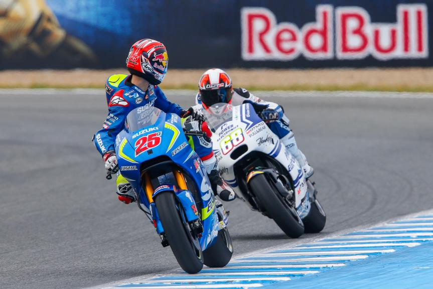 Maverick Viñales, Team SUZUKI ECSTAR, Yonny Hernandez, Aspar Team MotoGP, Gran Premio Red Bull de España